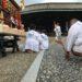 三嶋神社にご奉仕。